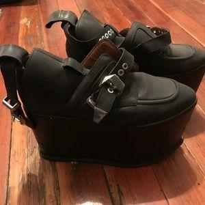 Jeffery Campbell 8.5 platform shoes